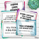 Growth Mindset Notes of Encouragement (Grades 6, 7, 8, 9)