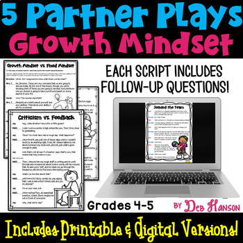 Growth Mindset Partner Plays