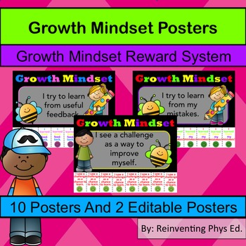 Growth Mindset Poster: Growth Mindset Tokens - Catch Stude