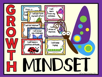 Growth Mindset Posters (Bug/Insect Theme)