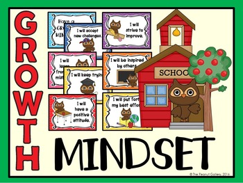 Growth Mindset Posters (Owl Theme)