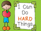 Growth Mindset Posters for Elementary Class Decor or Bulle