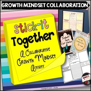 Growth Mindset Stick-It-Together