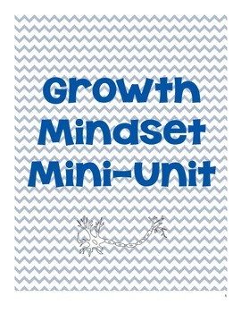 Growth Mindset Unit