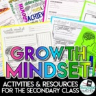 Growth Mindset Activities and Resources for the Secondary Classroom