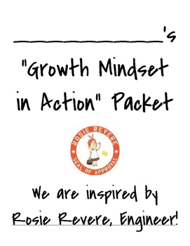 Growth Mindset in Action - Packet Cover