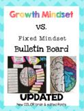 Growth Mindset vs. Fixed Mindset Bulletin Board