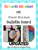 Growth Mindset vs. Fixed Mindset Bulletin Board