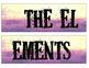 Grunge/ Rocker Periodic Table Banner