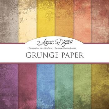 Grunge Textures Background Digital Paper scrapbook worn gr