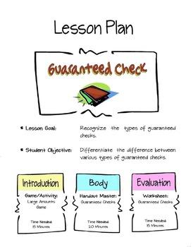 Guaranteed Checks Lesson