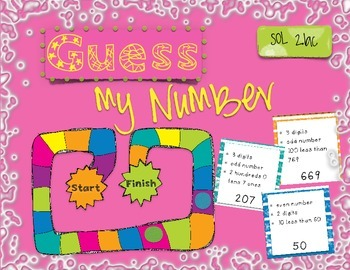 Guess My Number - A Number Sense Game
