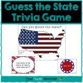 Guess My State Trivia Game - PowerPoint with Facts about t