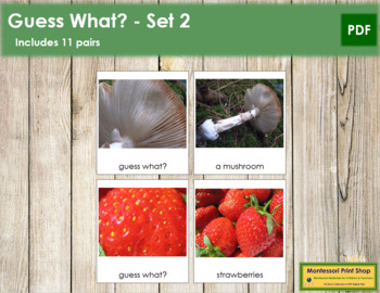 Guess What? - Set 2