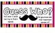 Guess Who: A Get to Know You Matching Game