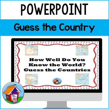 Guess the Country Power Point (Series 1)