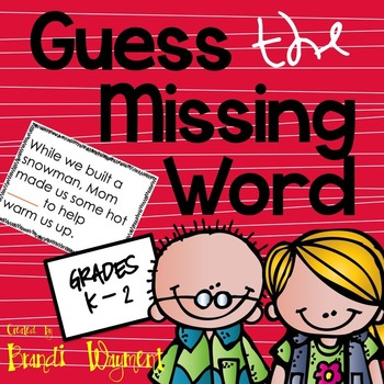 Guess the Missing Word