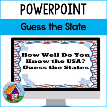 Guess the State Power Point (Series 1)