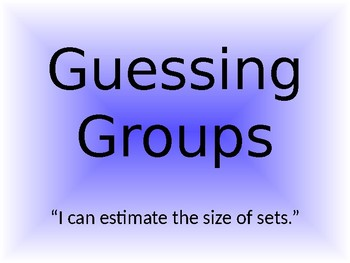 Guessing Groups