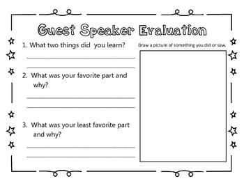 Guest Speaker Evaluation