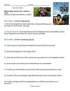 Movie Guide in SPANISH Which Way Home. La Bestia Centroamé