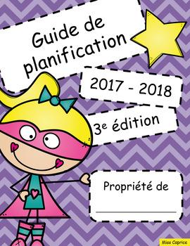 Guide de planification 2017-2018 - 3AM/2PM - Version héroïne