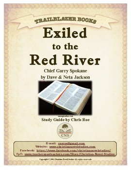 Guide for TRAILBLAZER Book: Exiled to the Red River