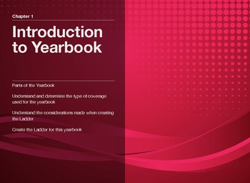"""Guide to Modern Yearbook Production - Lesson One """"Yearbook"""