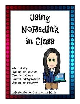 Guide to NoRedInk in Class - FREEBIE!