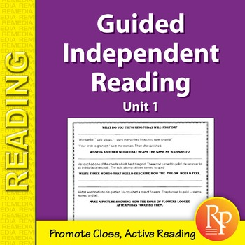 Guided Independent Reading - Unit 1