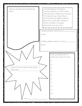 Guided Journaling Page