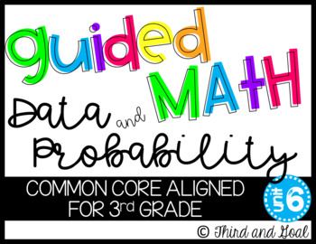 Guided Math Activity Pack for Third Grade Data and Probability