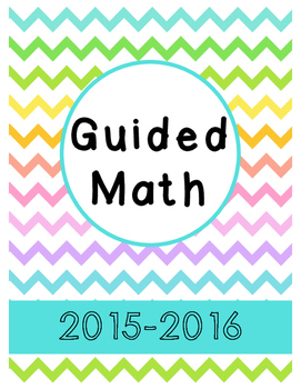 Guided Math Binder Covers