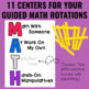 Guided Math: Data Management and Graphing Centers