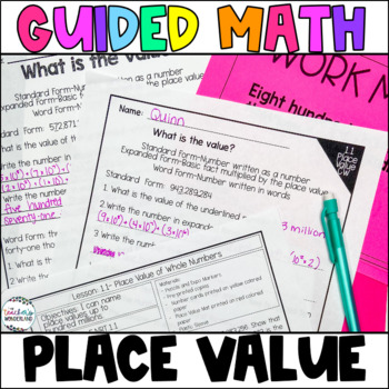 Guided Math Fifth Grade Unit 1-Place Value