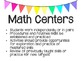 Guided Math- Getting Started