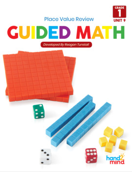 Guided Math Lessons: First Grade Unit 9 Place Value Prep f