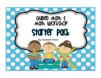 Guided Math / Math Workshop Starter Pack