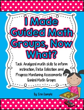 Guided Math Progress Monitoring Assessments