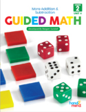 Guided Math Second Grade Unit 4 Double and Triple Digit Ad