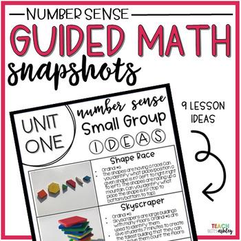 Guided Math Snapshots {Number Sense}