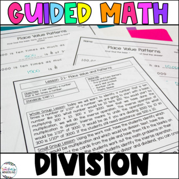 Guided Math- Unit 2 Whole Number Division