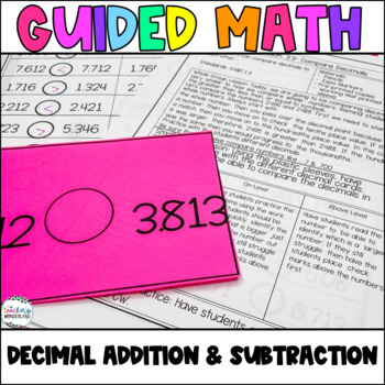 Guided Math- Unit 3 Decimal Addition and Subtraction