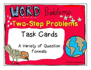 Guided Math (Word Problems) Addition and Subtraction Two-S