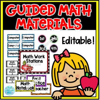 Guided Math Workstation Management Set