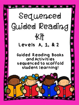 Guided Reading:15 Sequenced Books + Rebuilding Sentences a