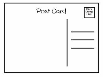 Guided Reading After Activities (Post Card)