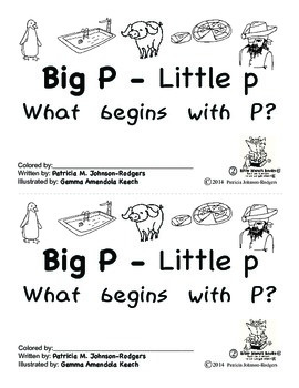 Guided Reading Alphabet Books - Letter P - Level 2