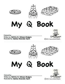 Guided Reading Alphabet Books - Letter Q - Level 1
