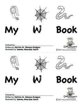 Guided Reading Alphabet Books - Letter W - Level 3